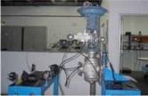 """Figura 2 – Foto do sistema de calibração de válvulas """"Works"""""""